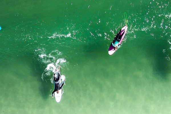 group surf lessons in Cornwall