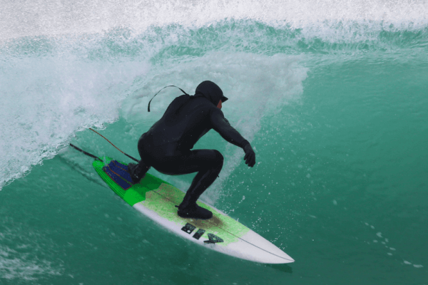 surf tuition with advanced surf lesson in cornwall