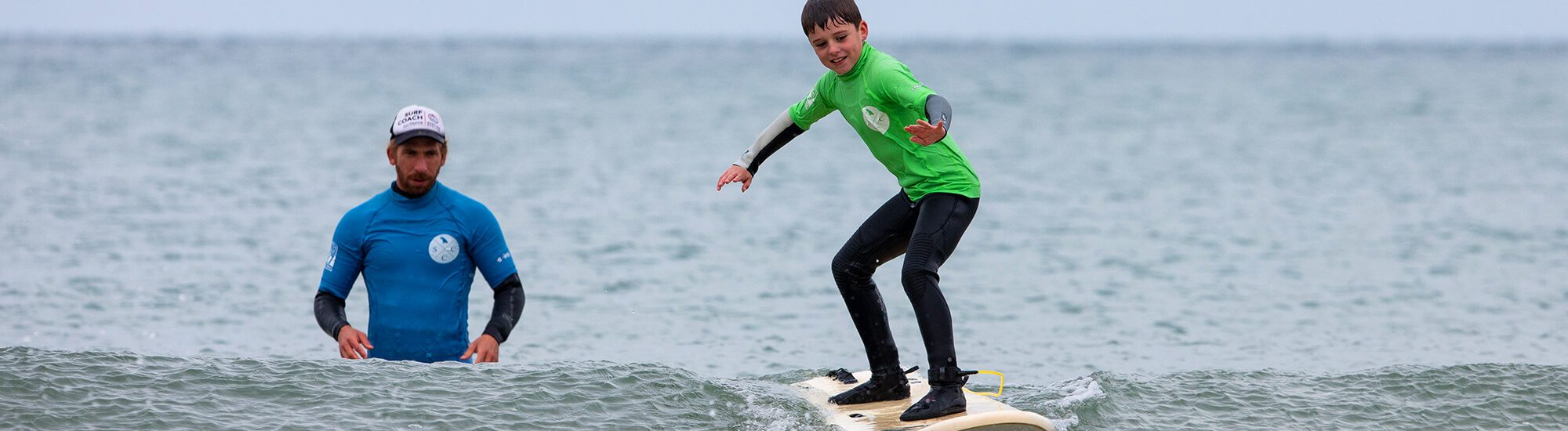 Family Surfing Lesson Cornwall by Andy Holter